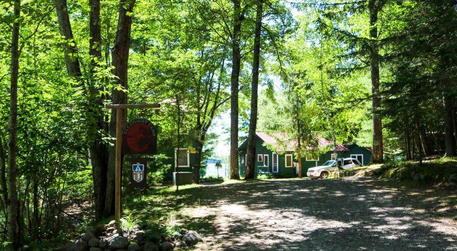Clearwater Camp entrance area