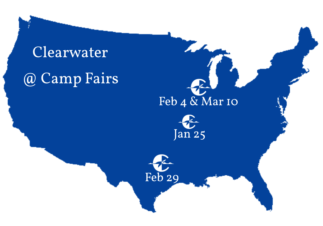 Clearwater at Camp Fairs – Winter 2020